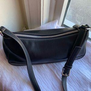 Coach black shoulder bag 5 by 12